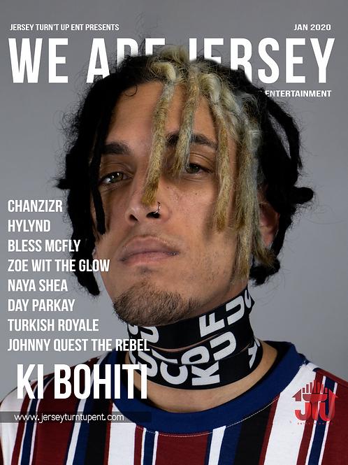 We Are Jersey Magazine January 2020 featuring Ki Bohiti