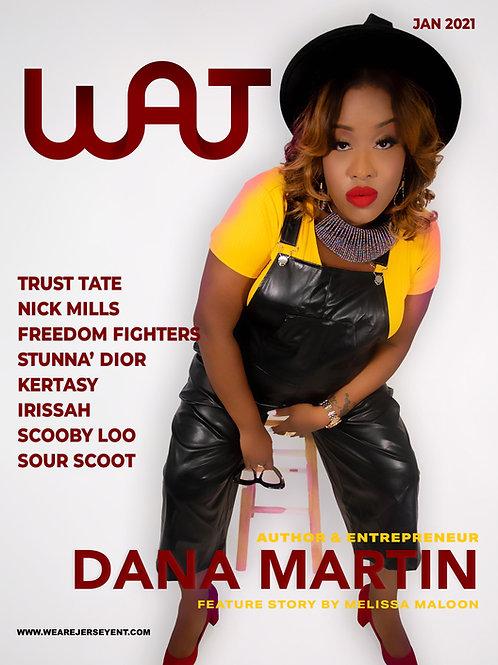 We Are Jersey Magazine: January 2021 Issue featuring Dana Martin