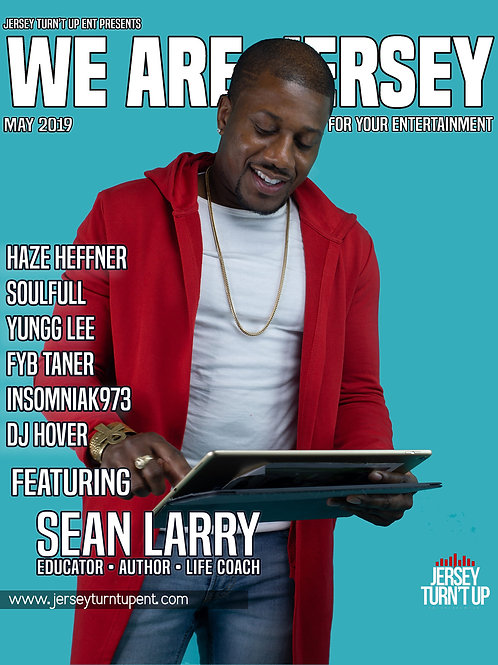 We Are Jersey Magazine May 2019 featuring viral Newark Principal Sean Larry