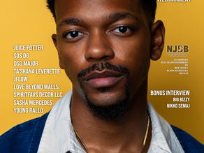 We Are Jersey Magazine: November 2020 Issue featuring Reggie Couz