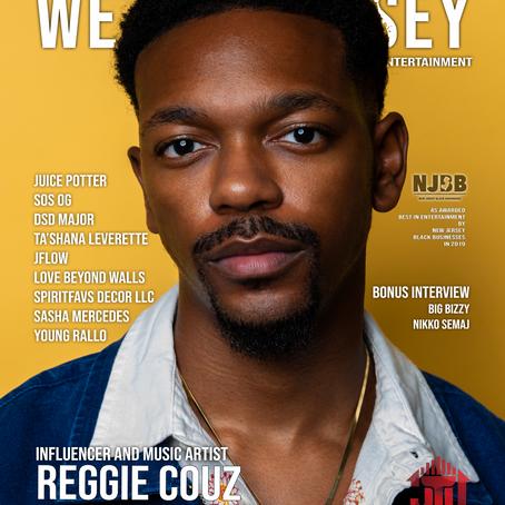 We Are Jersey Magazine: November 2020 Issue featuring Reggie Couz