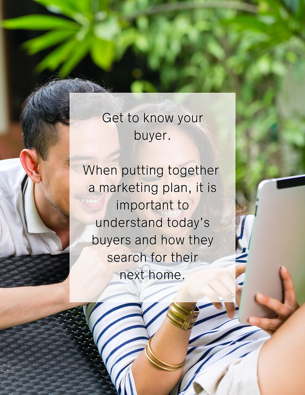 Get to know your Buyer