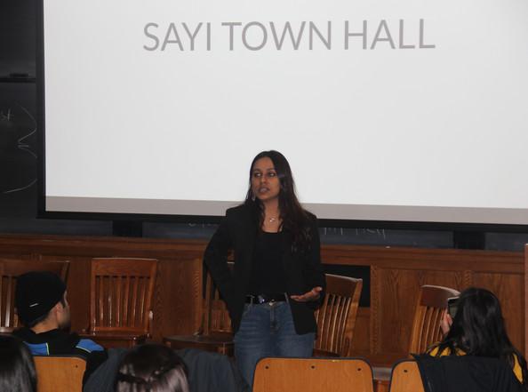 SAYI Town Hall