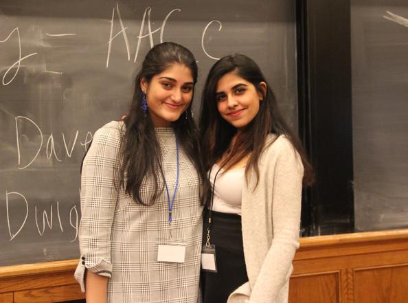 SAYI 2020 Co-conference Directors: Ananya and Aliesa