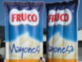 Bolsas Sachet Inflables Fruco Mayonesa.j