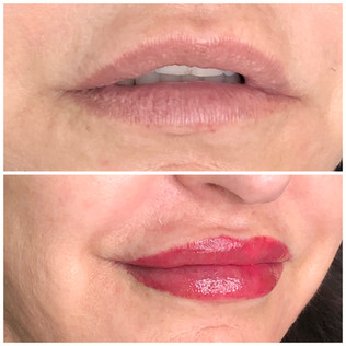Lip Blush Permanent Makeup