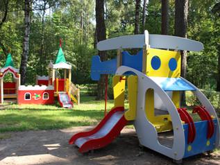 Новое оборудование для детских площадок