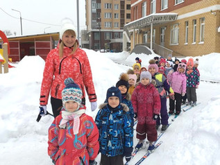 Прогулки в зимний период