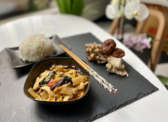 Festival de champignons + riz