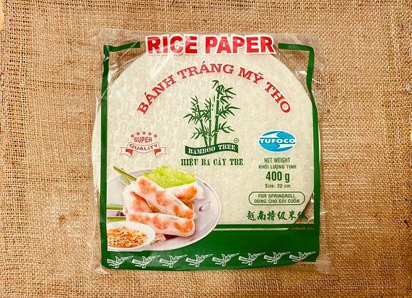 Feuilles de riz 22cm