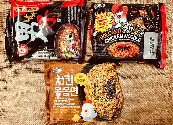 Nouilles instantanées coréennes