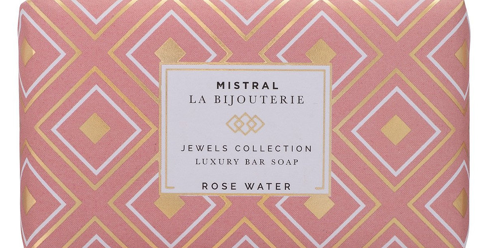 Rose Water Jewels Bar Soap