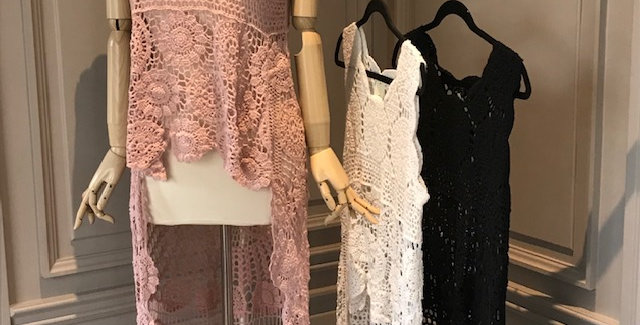 Lace Cover up with sleeve