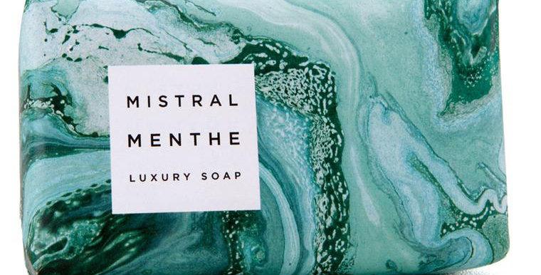 Mint Marbles Soap