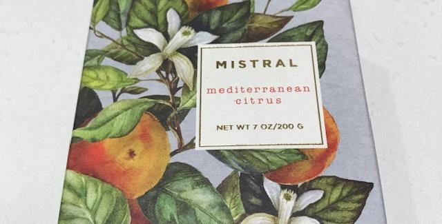 Mediterranean Citrus Luxury bar soap