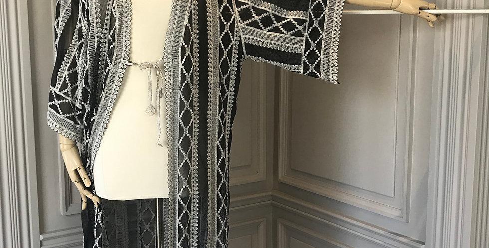 The Paris Lace Kimono Cardigan