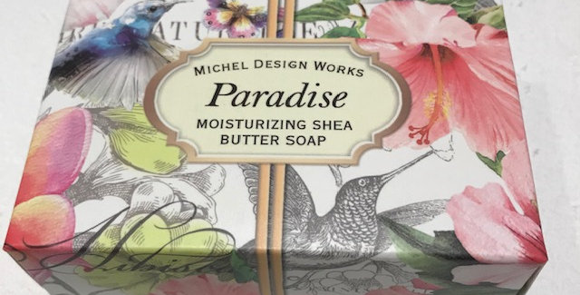 Paradise Boxed Single Soap