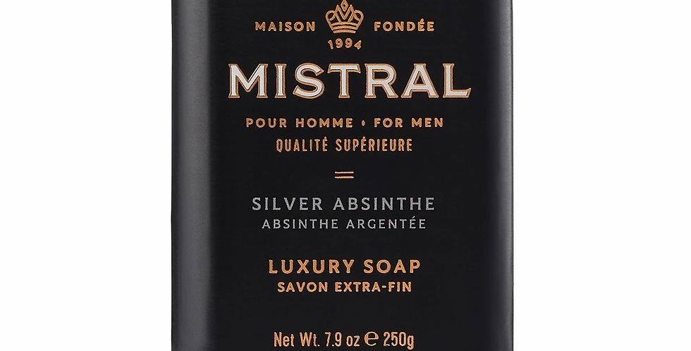 Silver Absinthe men's bar soap