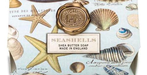 Seashell Large Bath Soap Bar