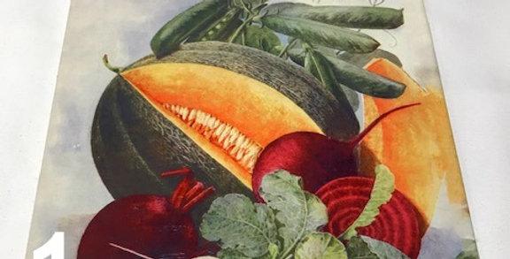 Trivet Fruits & Vegetables