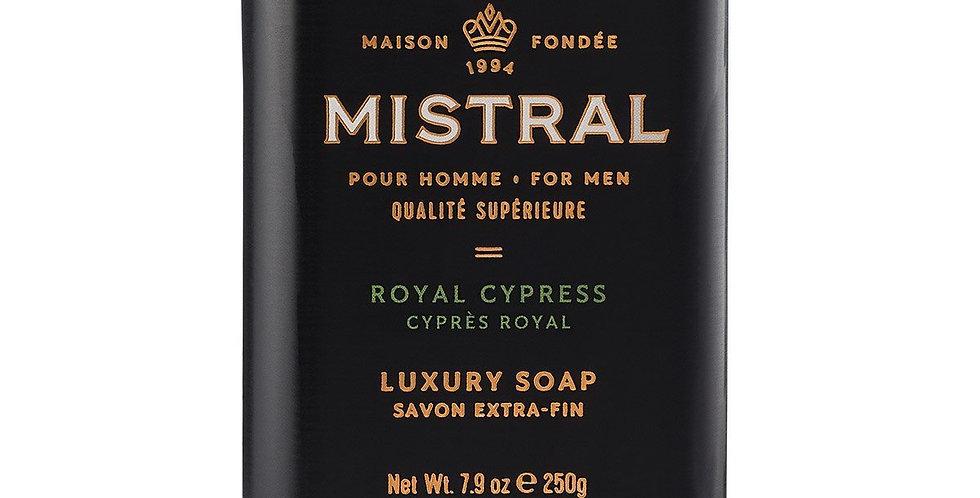 Royal Cypress  men's bar soap