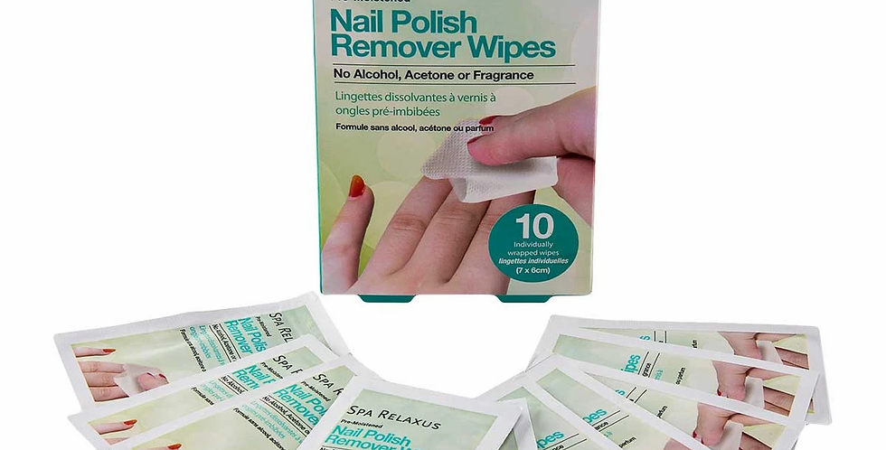 Nail Polish Remover Wipes
