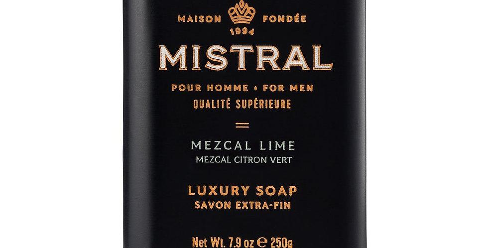Mezcal Lime men's bar soap