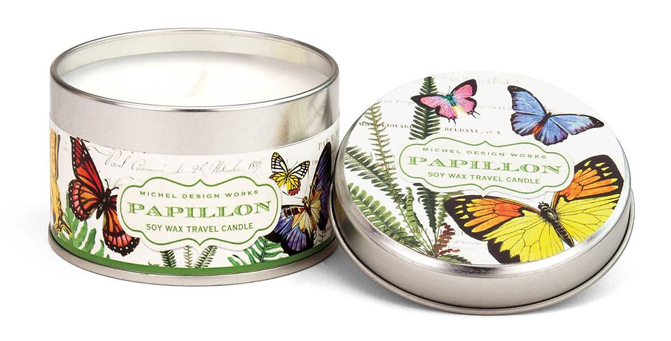 Papillon Travel Candle