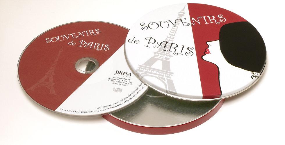 CD Souvenir de Paris