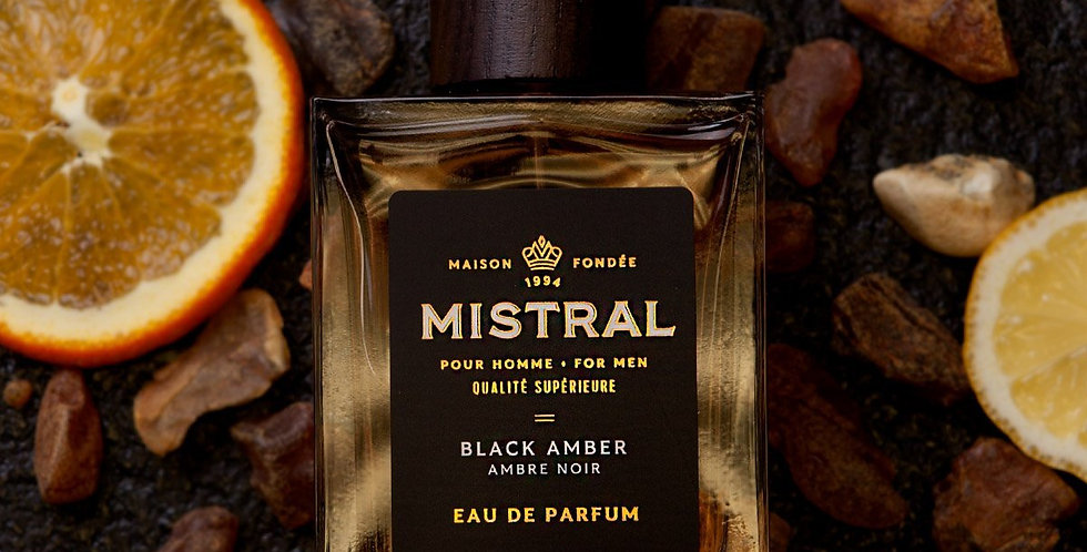 Black Amber men's fragrance