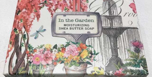 In The Garden Boxed Single Soap