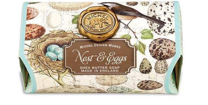 Nest & Eggs Large Bath Soap Bar