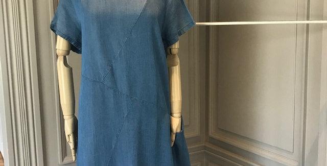 70's Denim short Sleeve Dress