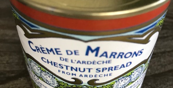 French Chestnut spread