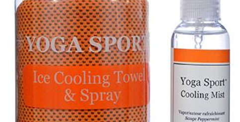 Yoga Ice Cooling Towel and Spray