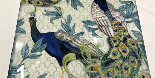 Trivet Peacock