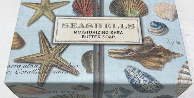Seashells Boxed Single Soap