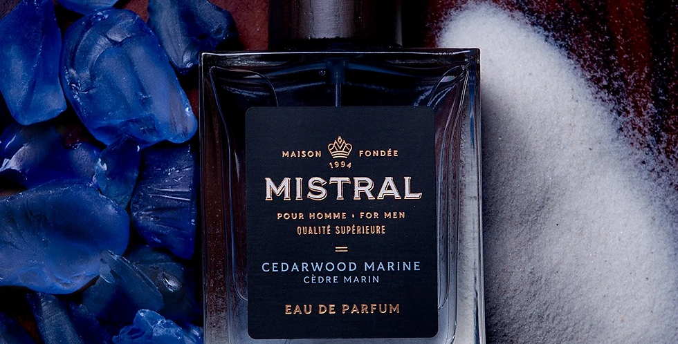 Cedarwood Marine men's Fragrance