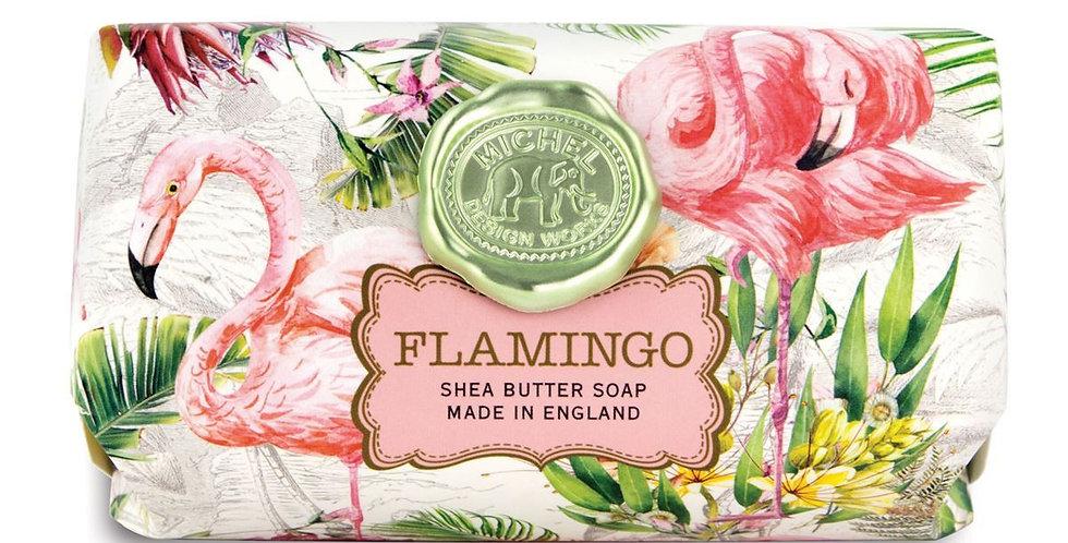 Flamingo Large Bath Soap Bar