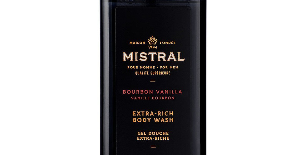 Bourbon Vanilla Body Wash