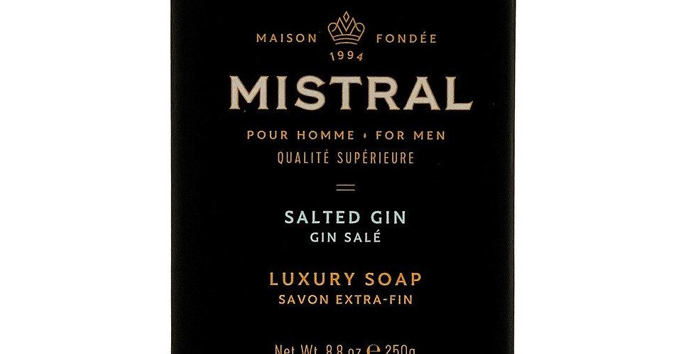 Salted Gin men's bar soap