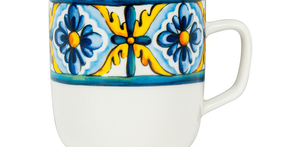 Italian Tile Wide Mug