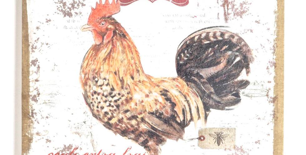 Le Coq canvas