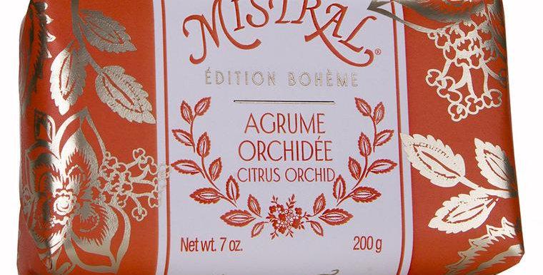 Agrume Orchidee Boheme soap