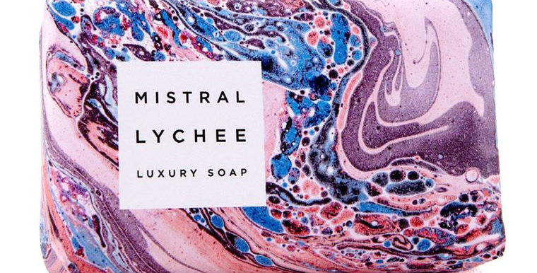Lychee Marbles Soap