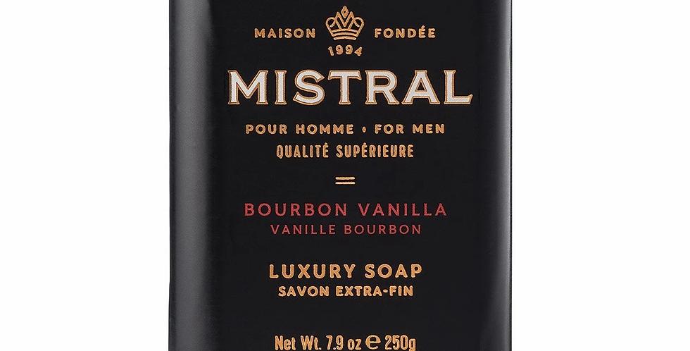 Bourbon Vanilla men's bar soap