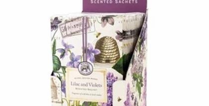 Scented Sachet Lilac & Violet
