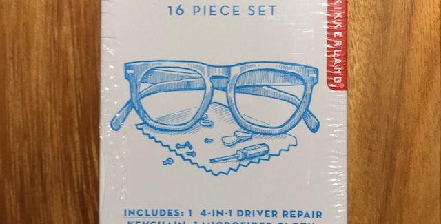 Eyeglass Repair Kit Tin