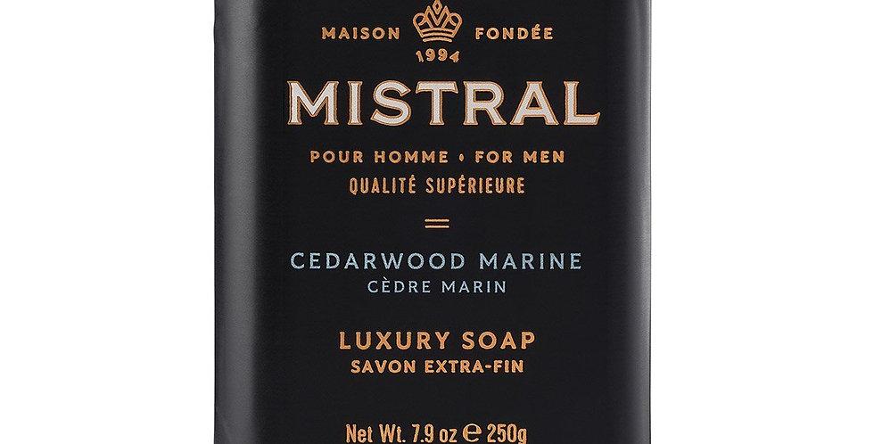 Cedarwood Marine men's bar soap