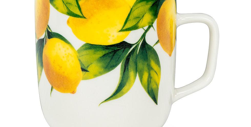 Lemon Tree Wide Mug
